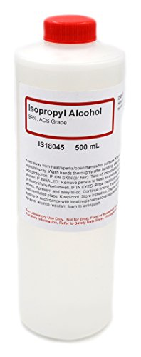ACS-Grade Isopropyl Alcohol, 99%, 500mL - The Curated Chemical Collection -