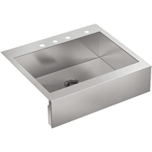 31mrWs-FguL._SS300_ 75+ Beautiful Stainless Steel Farmhouse Sinks For 2020
