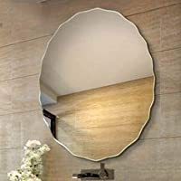Quality Glass Frameless Decorative Mirror   Mirror Glass for Wall   Mirror for bathrooms   Mirror in Home   Mirror Decor   Mirror Size : 24X 24inch