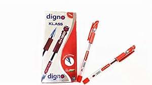 Digno Klass Red Ball pen 10 Pcs Packet