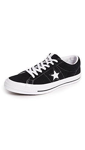 Converse Men's One Star Suede Ox Sneakers, Black, 13 D(M) US