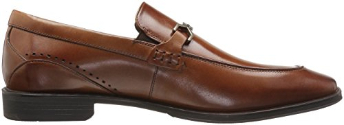 Stacy Adams Men's Lindford Moc Toe Bit Slip-On Penny Loafer Cognac collections sale online many kinds of online cheap sale sale nkBQd