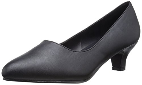 Pleaser Pink Label Fab-420w Damen Pumps, Schwarz (Blk Faux Leather), 44