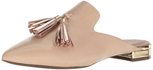 Rockport Women's Total Motion Adelyn Tassle Loafer Flat, Latte Leather, 9 W US -