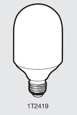 TCP 1T241951K Capsule Compact Fluorescent Light Bulb ()