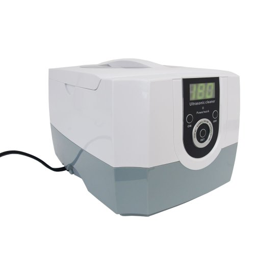 1.4L 60W Ultrasonic Cleaner with Digital Timer and Basker for Dental Tattoo Coin Jewelry Glass Watch