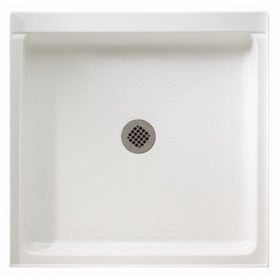 Swanstone FF03448MD.010 34-in x 48-in Veritek Shower Floor, White (Pans Swanstone Shower)