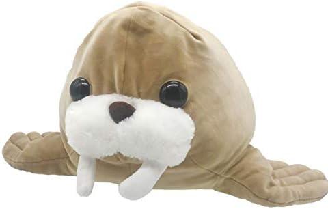Amazon.com: Walrus - Cojín de peluche elástico con diseño de ...