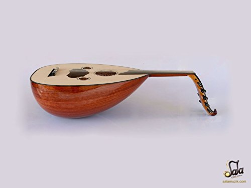 Turkish Quality Mahogany String Instrument Oud Ud AO-101S by Sala Muzik