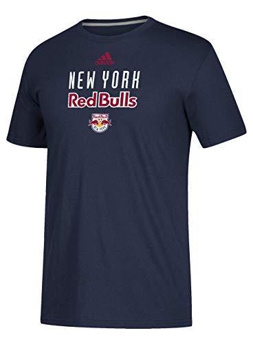 adidas New York Red Bulls Locker Room Go-to Performance Tee-Collegiate Navy-XL ()