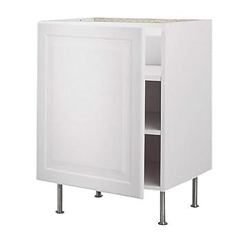 IKEA FAKTUM -Unterschrank mit Regalen Lidingö off-white: Amazon.de ...