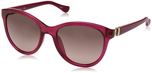 Calvin Klein Women's Ck3189s Cateye Sunglasses, Strawberry, 55 - Sunglasses Strawberry