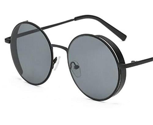 gafas la de para de la de aire conducción de protección marco de Gafas de pesca sol libre de UV400 gafas metal del unisex al la moda FlowerKui Black sol qUP48B
