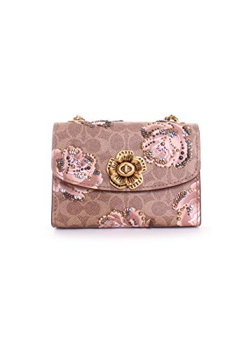 Print 18 Crossbody Coach Parker Bag Rose Signature 5InqxCHwvS