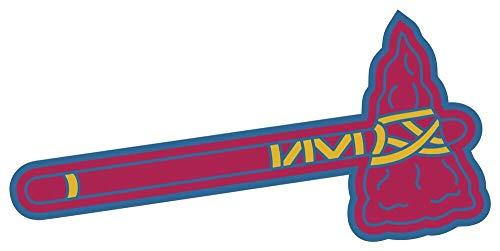 Atlanta Braves Tomahawk MLB - Sticker Graphic - Auto, Wall, Laptop, Cell, Truck Sticker for Windows, Cars, Trucks ()