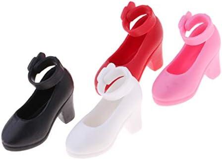 全4対 人形靴 ハイヒール シューズ 1/6スケール ブライス リカドールのため