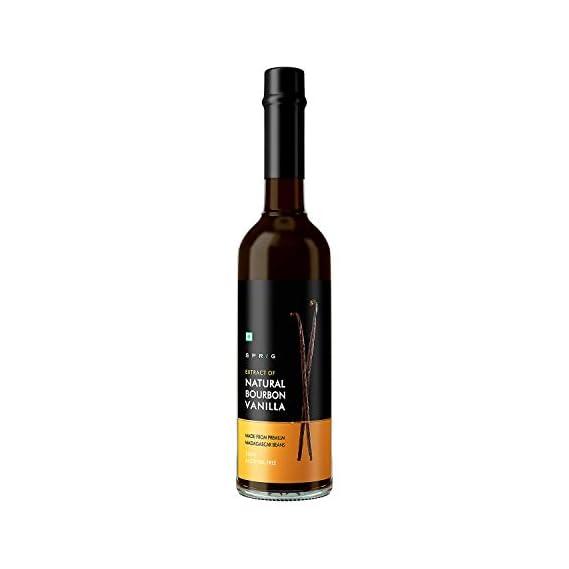 Sprig All Natural Bourbon Vanilla Extract Bottle, 50 ml