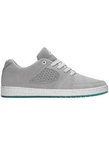Skate zapato hombres es Accel Slim Skate zapatos gris y azul