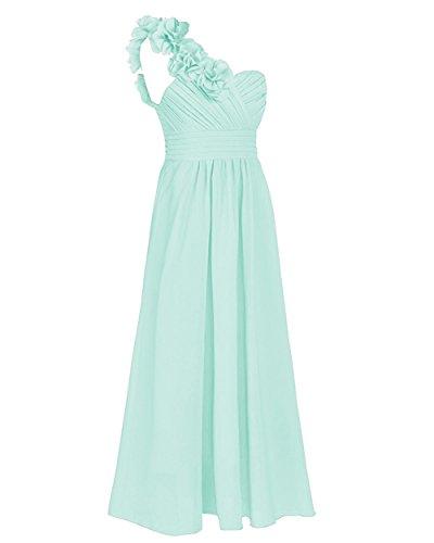 CoutureBridal - Vestido - Sin mangas - para niña Azul