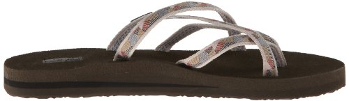 Antique Teva Gold Flops Flip Ss18 Olowahu Waterfall Women's 4CpCqwYWrS