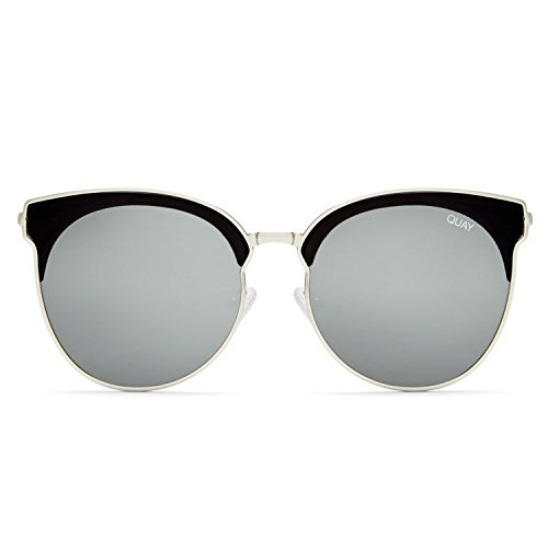 Quay Australia MIA BELLA Women's Sunglasses Round Winged Cat-Eye - - Winged Sunglasses