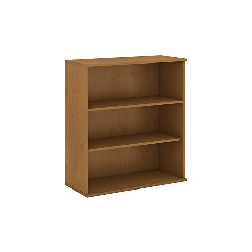 Bush Business Furniture 48H 3 Shelf Bookcase in Natural Cherry