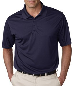 UltraClub Adult Cool-N-Dry Sport Performance Interlock Polo - Navy 8425 2XL (Dry Sport Performance Polo)