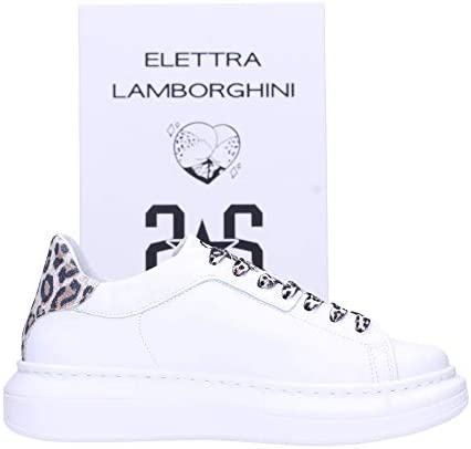 2 star Sneakers Donna Bianca 2sdel001