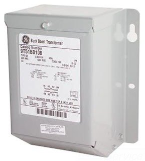GE 9T51B0130 1 Phase Copper Type QB Buck-Boost Transformer 120/240 Volt Primary 16/32 Volt Secondary 1 KVA by GE