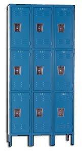 Hallowell, 3-Wide Units, Triple Tier, Assembled, Hu3258-3A, Product No.: 36 X 15 X 78