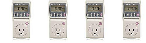P3 International P4460 Kill A Watt EZ Electricity Usage Monitor (4-(Pack))