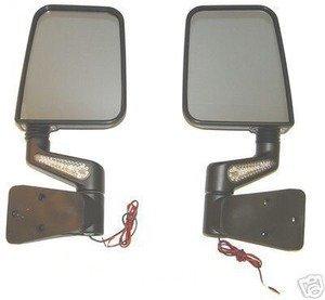 Amazon Com Jeep Yj Tj Wrangler New Led Mirror Kit Black