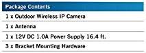 Night Owl Security Add-on Indoor/Outdoor Wireless 1080p AC Powered Camera, White (CAM-WNR2P-OU) 31msBAiZ0YL