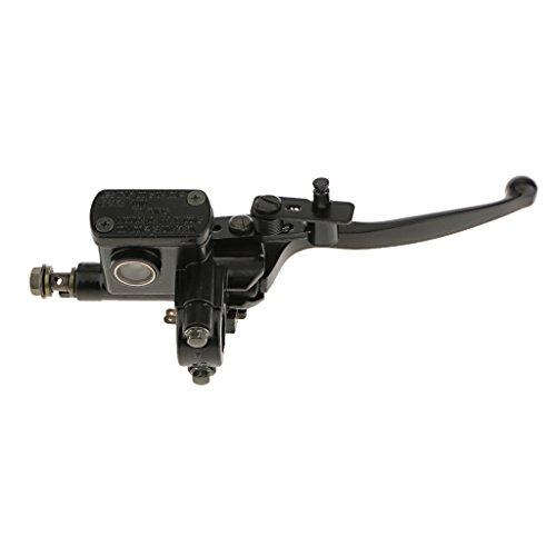 Homyl Right Hydraulic Brake Clutch Levers Assembly Master Caliper Cylinder for Dirt Bike ATV 50~125cc (Black):