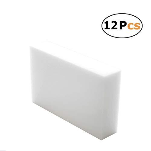 (Magical Foam Sponge Eraser Strong Decontamination 12 Pieces)