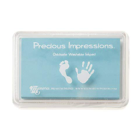 Darice Stewart Superior Precious Impressions Child Safe Stamp Pad Baby Blue (6 Pack)