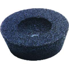 CGW Abrasives 421-35900 Type 11 Flaring Cup Wheel, 2'', 16 Grit, 5/8-11 UNC, 6048 rpm, Aluminum Oxide, 0.75'' Diameter by CGW Abrasives