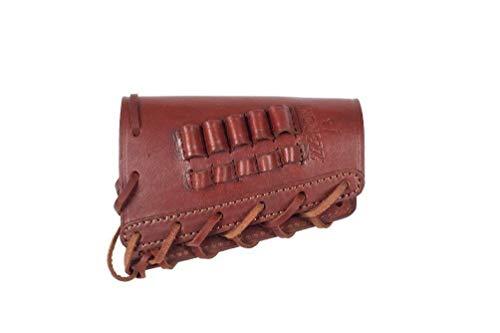 J18 Leather Hunting Buttstock Ammo Cartridge .223 REM Caliber