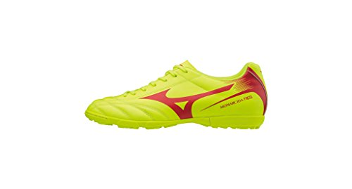 Mizuno Men's Wave Hurricane Mid Volleyball Shoes White/SafetyYellow/DirectoireBlue qTM7fi