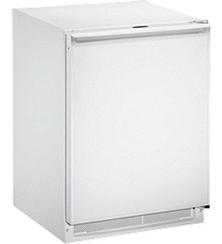 (U-Line U1224RFW00B 4.2 cu. ft. Compact Refrigerator, White)