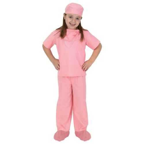 Aeromax Jr. Doctor Scrubs, available in Blue or Pink -