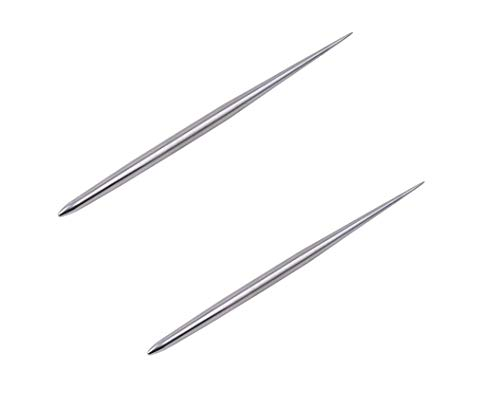 (Aiber Clay Pottery Stainless Steel Modeling Needle Detail Tools for Sculpture Pack of 2)