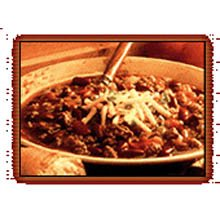 Whiteys Beef Chili with Beans - 5 lb. bag, 4 per cse by Ajinomoto Windsor