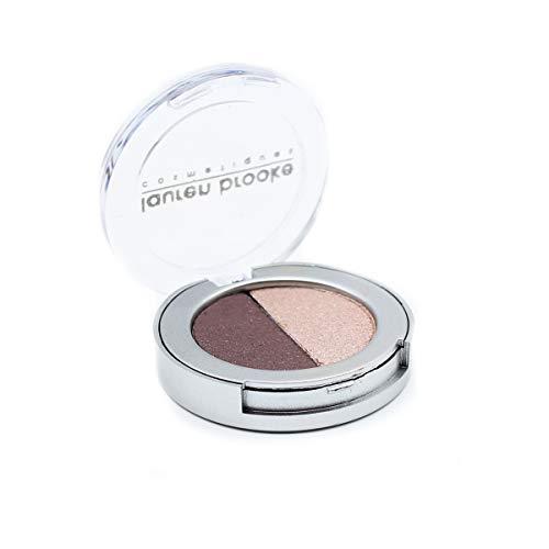 Lauren Brooke Cosmetiques Pressed Eyeshadow Duo, Natural,...