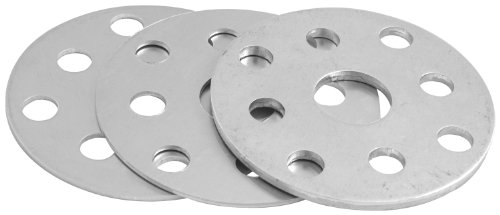Allstar Performance ALL31064 Water Pump Pulley Shim Kit, (Pack of 3) (Crank Shim)