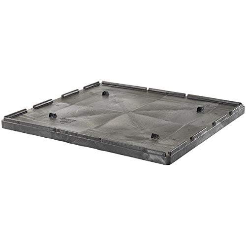48L x 44W x 3H for 48 x 44 Agricultural Boxes Buckhorn Structural Foam Lid Black 3 Units