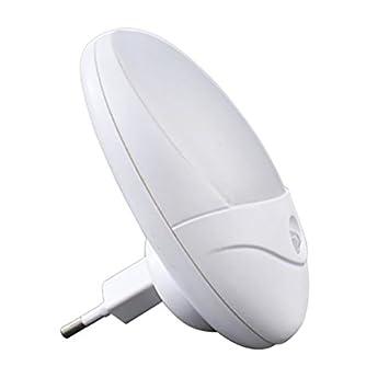 ElectroDH Luz Nocturna para Enchufe con Sensor de Movimiento y luminosidad