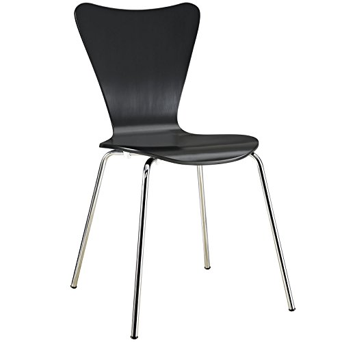 Danish Modern Butterfly Style Chair in Black by America Luxury - Chairs