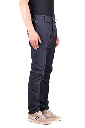 Incotex Hombre Pantalón Mcbi34165 Algodon Azul rSpwqBr