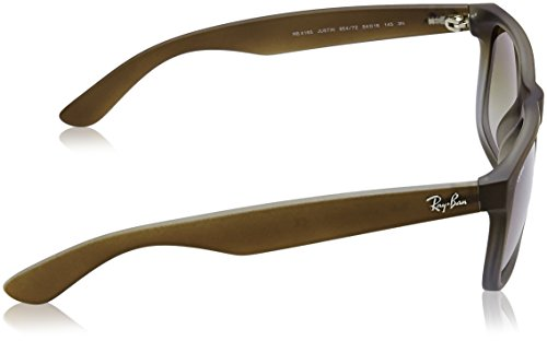 Gafas 55 de Justin Marrón Ray Brown sol 7Z Unisex 854 mm Ban RB4165 twqwpP